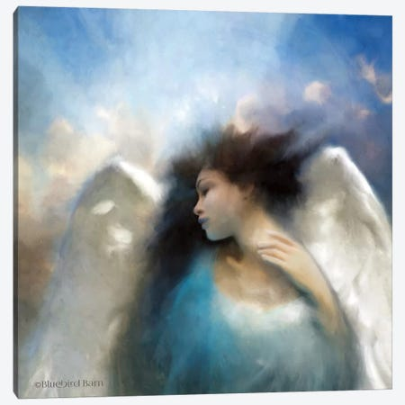 Reverie of an Angel Canvas Print #BLB77} by Bluebird Barn Canvas Print