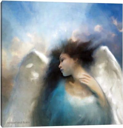 Reverie of an Angel Canvas Art Print