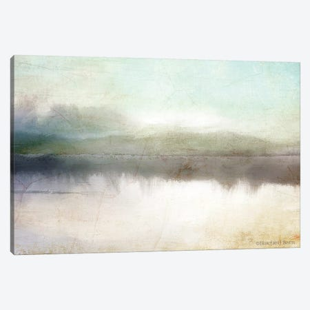 Soft Lake Landscape Canvas Print #BLB86} by Bluebird Barn Canvas Artwork