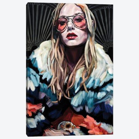 Disco Nights Canvas Print #BLD2} by Belinda Eaton Canvas Wall Art