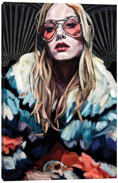 Disco Nights Canvas Art Print