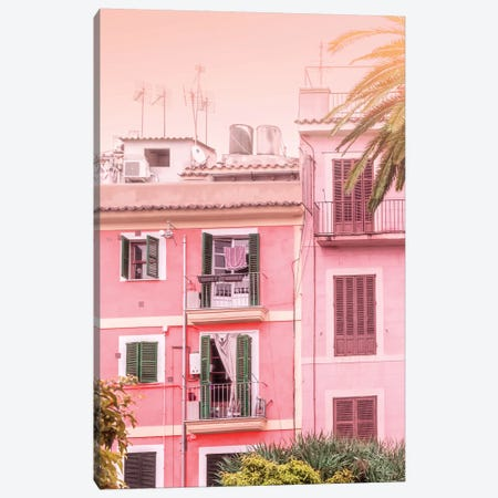 Urban Exotic Summer Canvas Print #BLI103} by Beli Canvas Wall Art