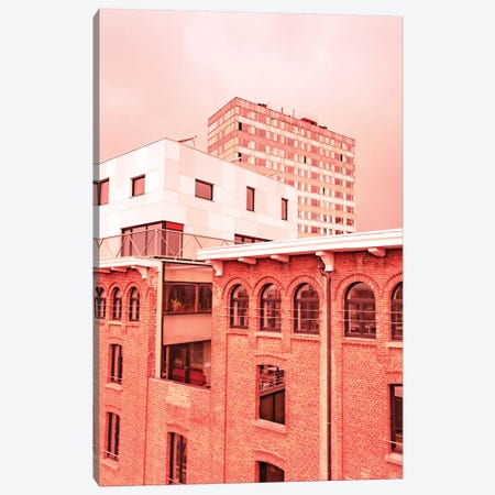 Urban Puzzle Canvas Print #BLI104} by Beli Canvas Print