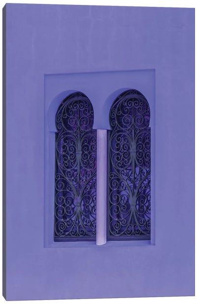 Oriental Windows Canvas Art Print