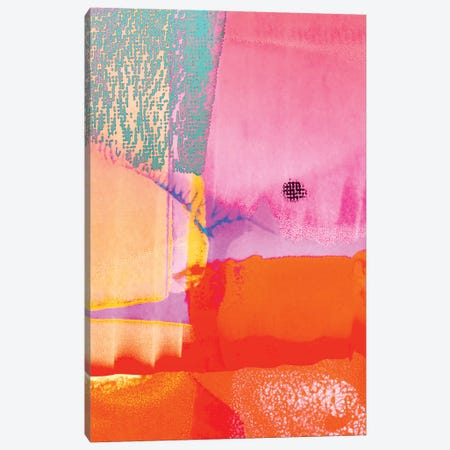 Los Angeles Meditation Canvas Print #BLI119} by Beli Canvas Art Print