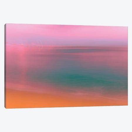 Slow Motion Sunset Canvas Print #BLI136} by Beli Canvas Wall Art