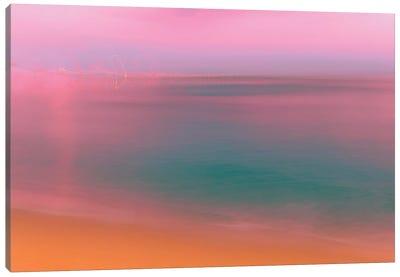 Slow Motion Sunset Canvas Art Print