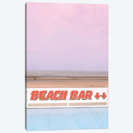 Beach Bar Canvas Print #BLI13} by Beli Canvas Art Print