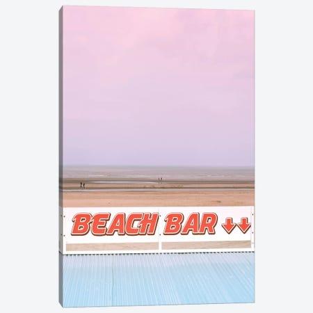 Beach Bar Canvas Print #BLI13} by Beli Canvas Art Print