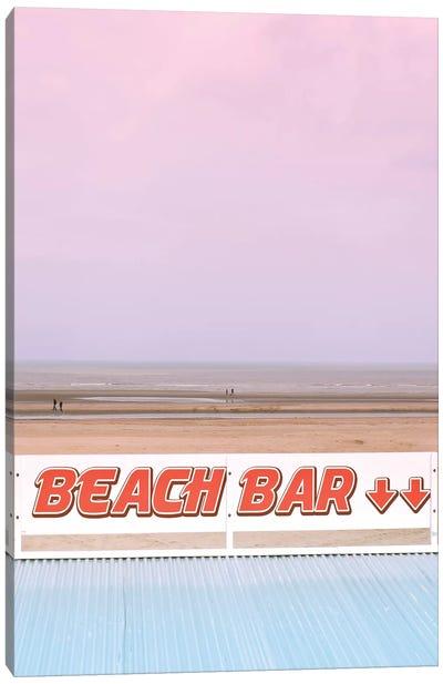 Beach Bar Canvas Art Print