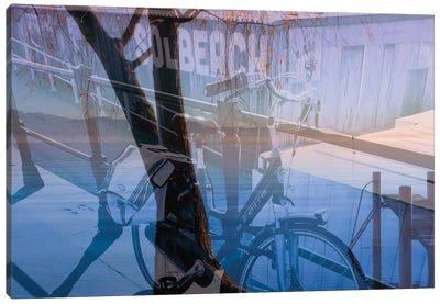 Biking In Nature Canvas Art Print