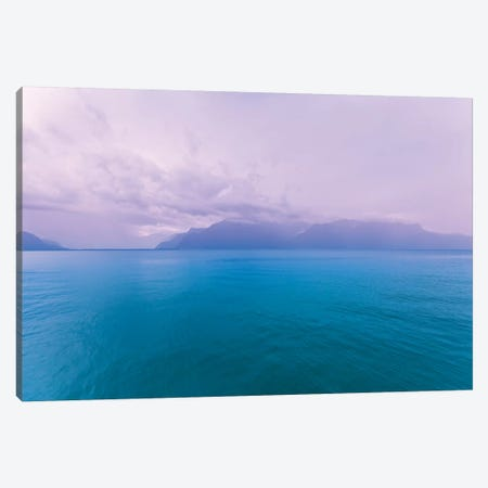 Blue Mood Canvas Print #BLI21} by Beli Canvas Artwork