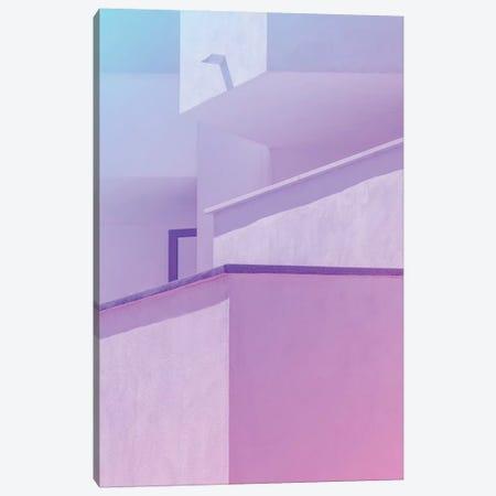 Abstract Geometric Architecture I Canvas Print #BLI2} by Beli Art Print