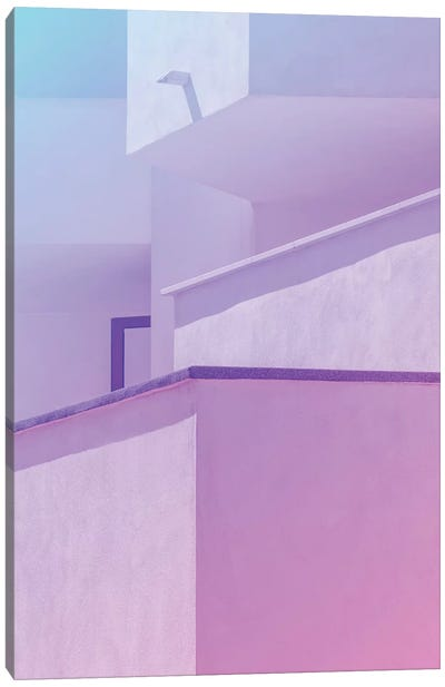 Abstract Geometric Architecture I Canvas Art Print