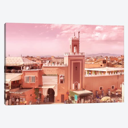 Fantastic Marrakech Canvas Print #BLI35} by Beli Canvas Art