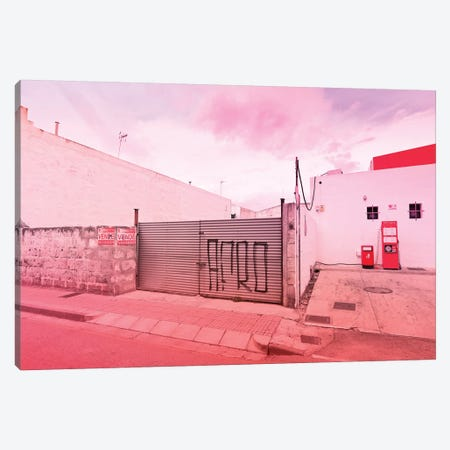 Gas Station Canvas Print #BLI37} by Beli Canvas Art