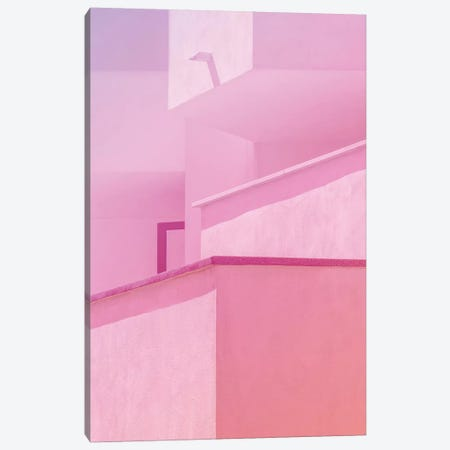 Abstract Geometric Architecture II Canvas Print #BLI3} by Beli Canvas Art Print