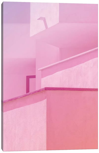 Abstract Geometric Architecture II Canvas Art Print