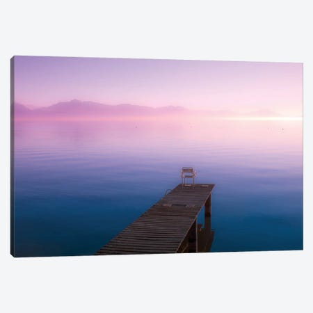 Infinite Sunset Canvas Print #BLI46} by Beli Canvas Print