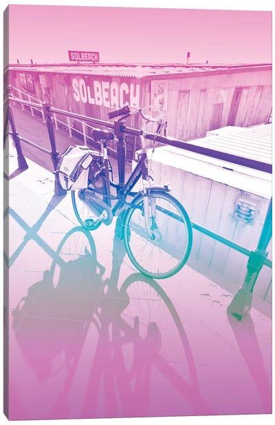Let's Bike Canvas Art Print