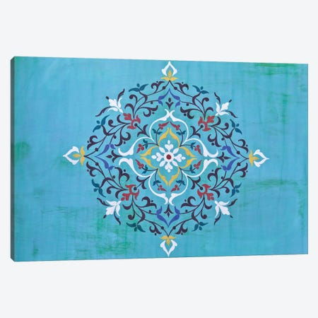 Oriental Calligraphy Canvas Print #BLI67} by Beli Canvas Print