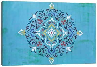 Oriental Calligraphy Canvas Art Print