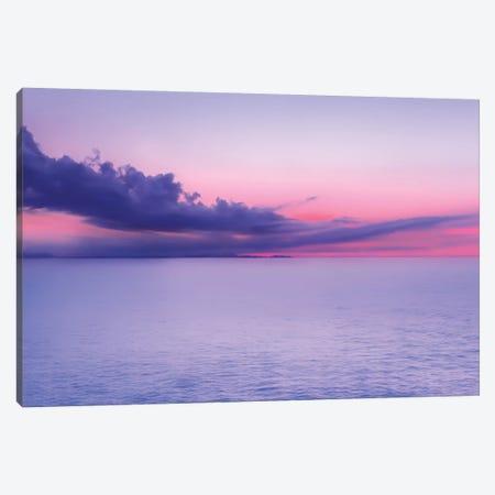 Sunset Indigo Mood Canvas Print #BLI94} by Beli Canvas Art