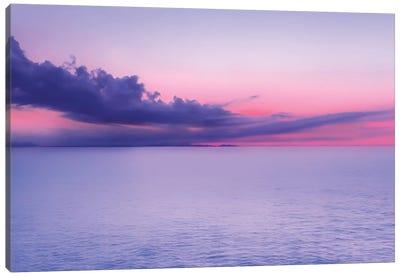 Sunset Indigo Mood Canvas Art Print