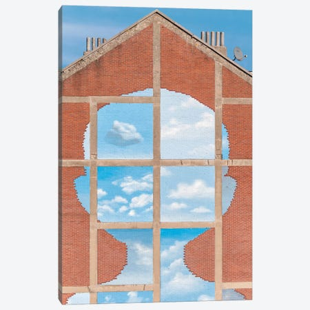 Surreal Blue Sky And Clouds Canvas Print #BLI97} by Beli Canvas Wall Art