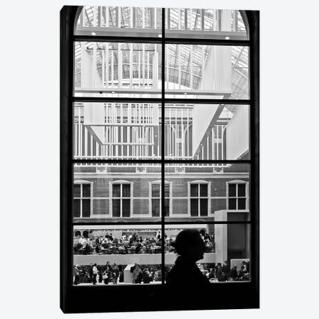 Amsterdam Window Canvas Print #BLI9} by Beli Art Print