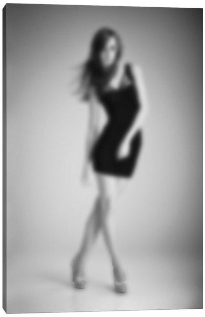 Blurred Grace Canvas Art Print
