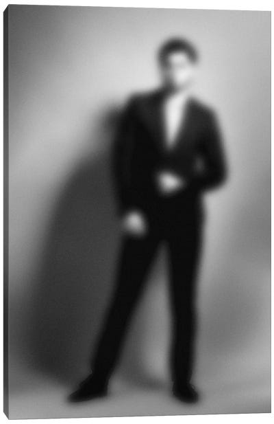 Blurred Julian Canvas Art Print