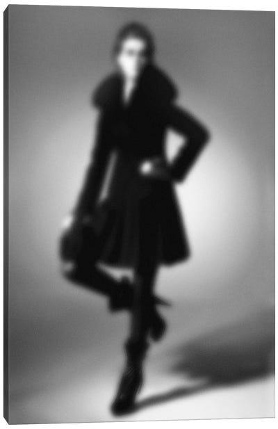Blurred Mélange Canvas Art Print
