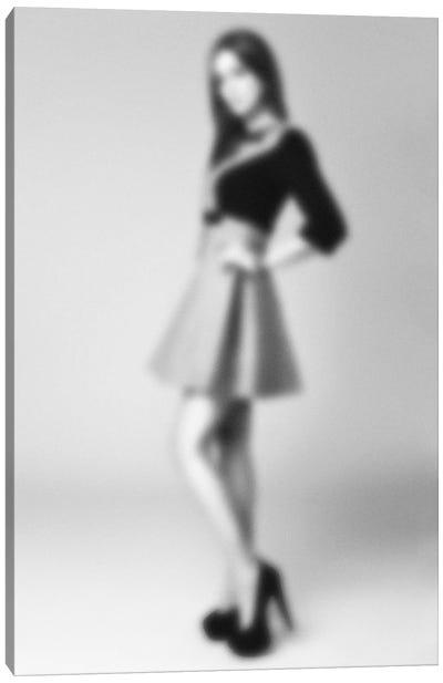 Blurred Bianca Canvas Art Print