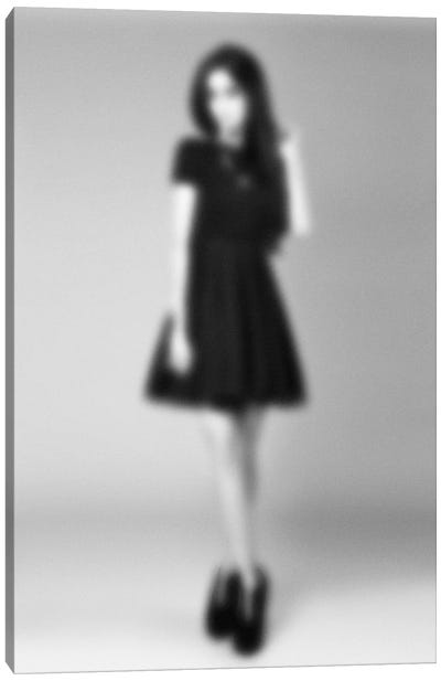 Blurred Couture Canvas Art Print