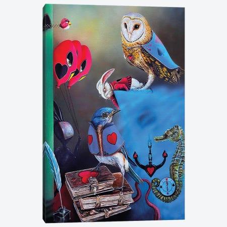 The Key to the Fantastic World Canvas Print #BLO103} by J.Bello Studio Canvas Artwork