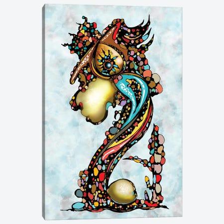 Dragon King Canvas Print #BLO105} by J.Bello Studio Canvas Print