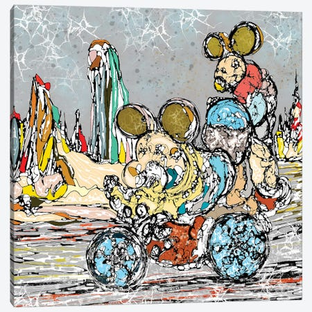 Family Trip Canvas Print #BLO107} by J.Bello Studio Art Print