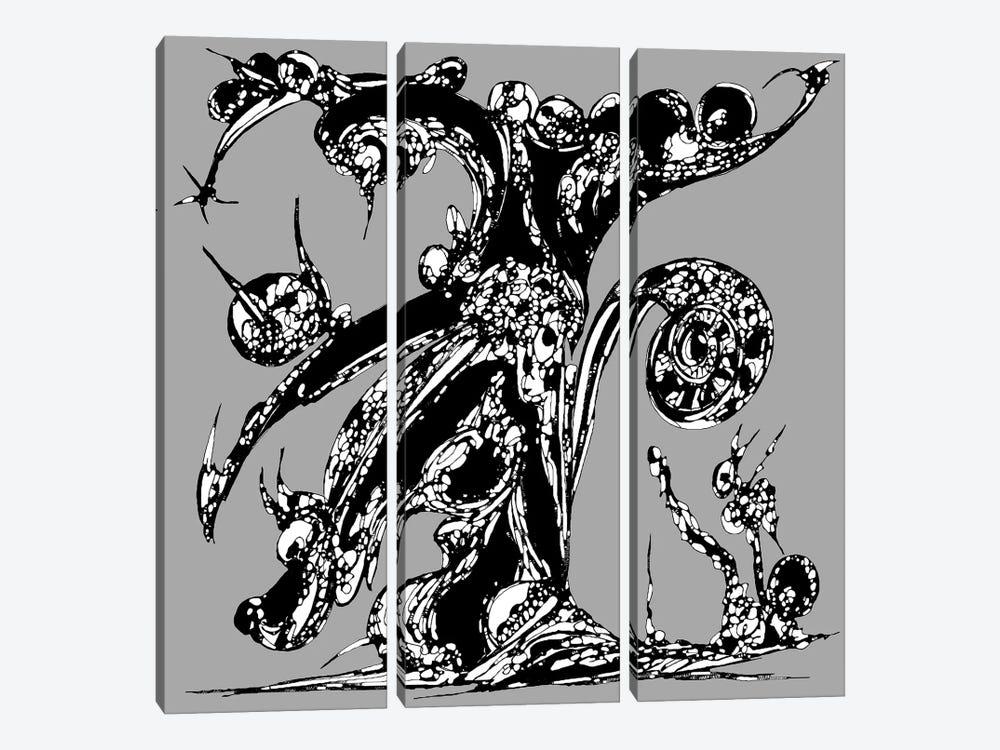 Fortune Tree by J.Bello Studio 3-piece Canvas Art Print