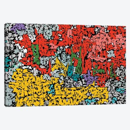 Mess Canvas Print #BLO116} by J.Bello Studio Canvas Artwork