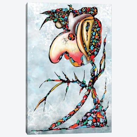 Queen Of Forgotten Canvas Print #BLO125} by J.Bello Studio Canvas Art Print