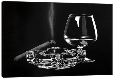 After Hours BW Canvas Art Print