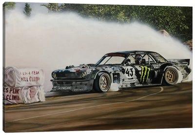 Hoonicorn Drift Car Canvas Art Print