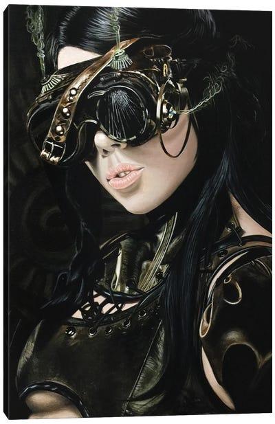 Steampunk Girl I Canvas Art Print