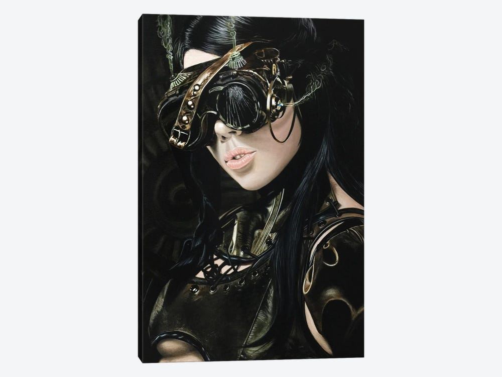 Steampunk Girl I by J.Bello Studio 1-piece Canvas Print