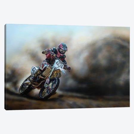 The Race Canvas Print #BLO36} by J.Bello Studio Canvas Art