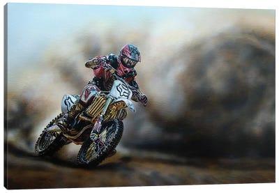 The Race Canvas Art Print