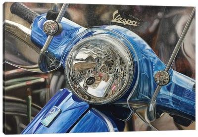 Vespa Canvas Art Print