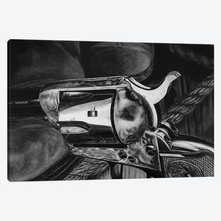 Wild West II BW Canvas Print #BLO41} by J.Bello Studio Canvas Wall Art