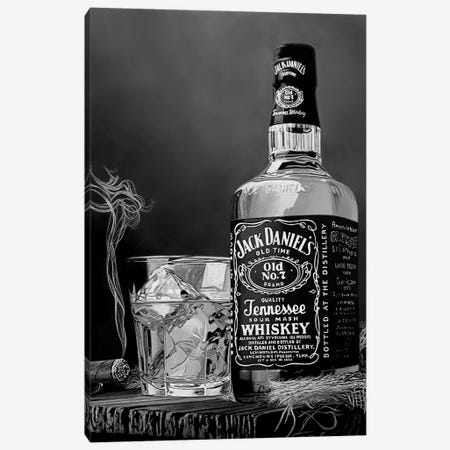 Wild West V BW Canvas Print #BLO43} by J.Bello Studio Canvas Artwork